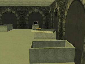 Cimetière de Vinewood GTA San Andreas (crypte)