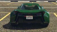 Itali GTB Custom GTA Online (vue arrière)