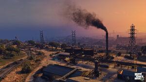 Murrieta Oil Field GTA V (image officielle)