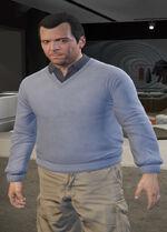 Ponsonbys (V - Bladoniebieski sweter)