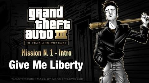 GTA 3 - iPad Walkthrough - Intro & Mission 1 - Give Me Liberty