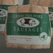 Grass Fed Pork Sausages (V)