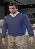 Ponsonbys (V - Niebieski sweter - 2)
