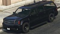 SUV du FIB GTA V (vue avant)