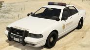 Sheriff Cruiser vue avant GTAV