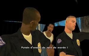 The Green Sabre GTA San Andreas (enlèvement)