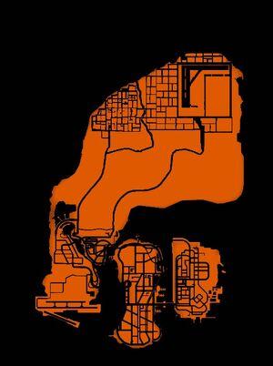 Карта Либерти-Стэйт