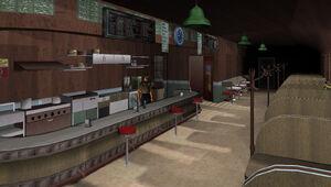 Café Robina GTA Vice City (intérieur)