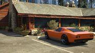 Monroe-estacionado