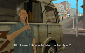Wear Flowers in Your Hair GTA San Andreas (Dwaine)