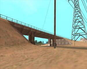 7. Мост над дорогой. Пустынный округ