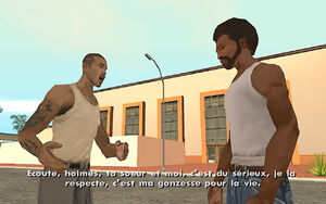 Cesar Vialpando (mission) GTA San Andreas (explication)