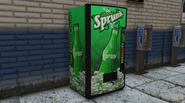Distributeur Sprunk entrepôt Dashound