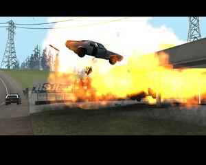 Sabre crash