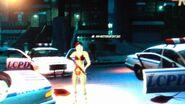 Clementine egy véres rendőrharc után