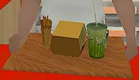 Burger Shot GTA San Andreas (menu méga bœuf-burger)