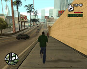 GTASA PC Gameplay Running