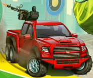Caracara artwork officiel GTA Online