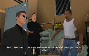 Dam and Blast GTA San Andreas (objectif)