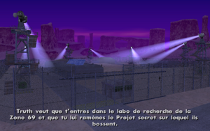 Black Project GTA San Andreas (consigne 1)