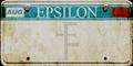 Epsilon plate