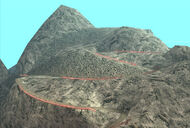 Mount Chiliad (sentier) GTA San Andreas