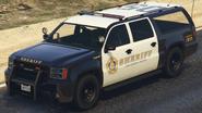 Sheriff SUV GTA V (vue avant)