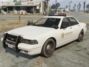 Sheriff cruiser, Sandy Shores