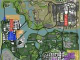Банды в GTA San Andreas