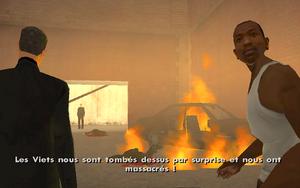Mountain Cloud Boys (mission) GTA San Andreas (attaque)