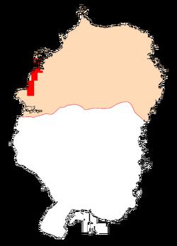 Карта Северного Чумаша