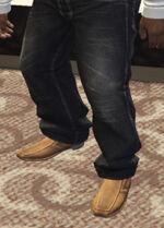 Ponsonbys (V - Jasnobrązowe buty wsuwane)