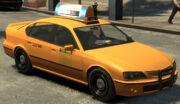 Taxi Declasse vue avant GTAIV