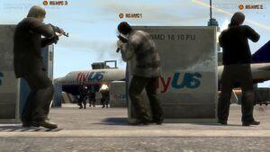 Assaut du NOOSE GTA IV (fusillade)