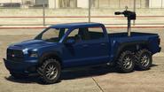 Caracara minigun monté GTA Online