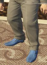 Ponsonbys (V - Niebieskie buty wsuwane)