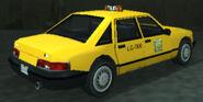 Taxi vue-arrière GTALCS