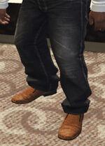 Ponsonbys (V - Brązowe buty z krokodyla)