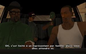 Reuniting the Families GTA San Andreas (consigne)