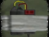 Bomba przylepna