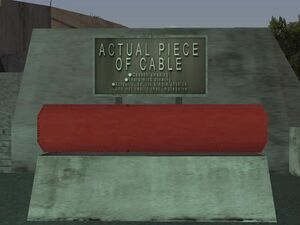 Gant Bridge GTA San Andreas (câble)