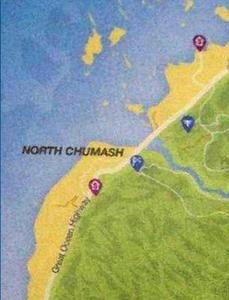 N. Chumash Map