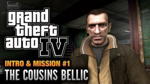 GTA 4 - Intro & Mission -1 - The Cousins Bellic (1080p)