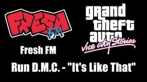 GTA Vice City Stories - Fresh FM Run D.M.C