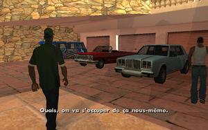 Riot GTA San Andreas (départ)