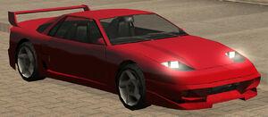 Super GT GTA San Andreas (vue avant)