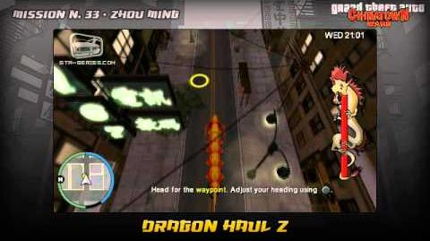GTA Chinatown Wars - Walkthrough - Mission -33 - Dragon Haul Z