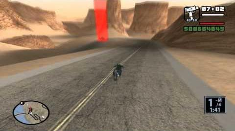 GTA San Andreas. Прохождение Гоночные соревнования (ЛВ)