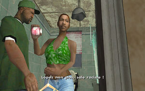 Cesar Vialpando (mission) GTA San Andreas (Slick-O-Greese Sex Lard)