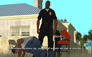 Misappropriation GTA San Andreas (coup)